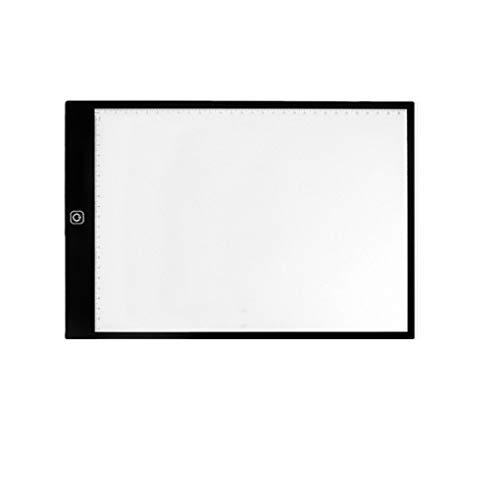Uzinb Luce A4 Digitale Disegno Graphic Tablet LED Box Tracing Copia Consiglio Pittura Scrittura Tavolo Tre Livelli Dimming