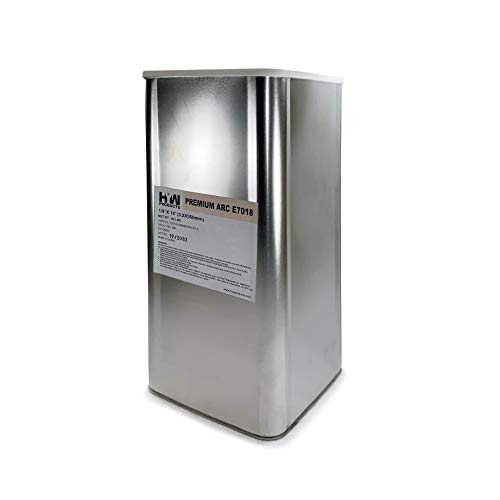 "50 lb Steel Can E7018 1/8"" Stick electrodes welding rod (E7018 1/8"")"