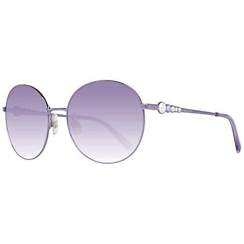 Swarovski SK-0180-81Z Gafas de sol, Morado, 61 para Mujer