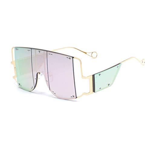 WSDSX Gafas de sol deportivas, Gafas de sol para exteriores, Protección UV400 Marco ligero, Marco de metal Ultra ligero para pescar Conducción Correr Ciclismo Camping, Rosa