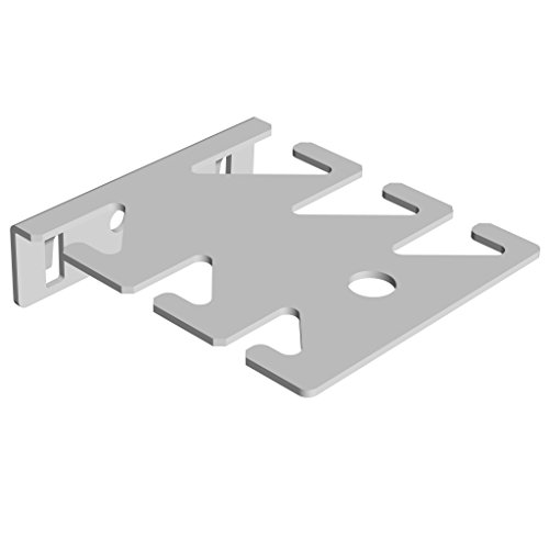 Element System 11407-00002 Porte-outil 6 outils 63 x 75 mm Blanc