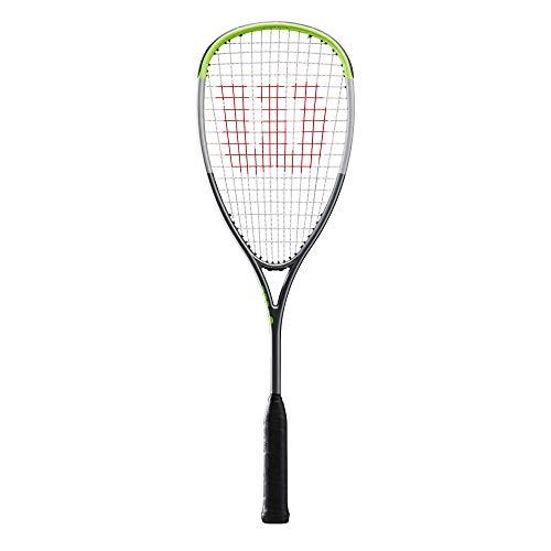 Wilson Blade L Raqueta de squash, Verde/Negro, WR042310H0