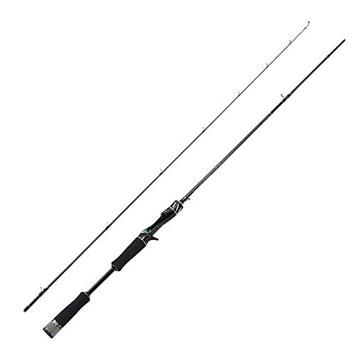 Hayandy ANGELRUTE 2-15g Fast Action 2.1m Test-Spinnrute for Light Trout Rod L Power Carbon Rod 4-8LB-Spinnrute Casting (Color : Casting Rod)
