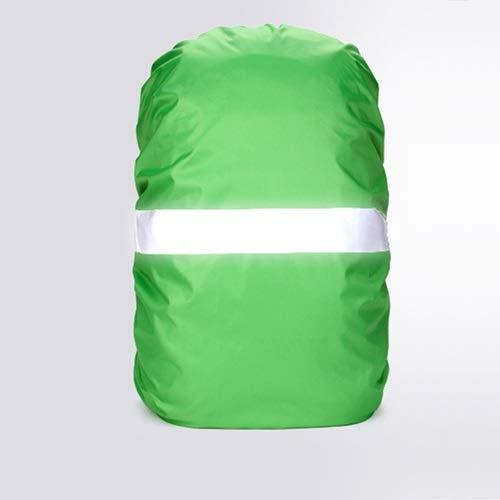 HUYANJUN, Funda for Lluvia Mochila Reflectante 20L 35L 40L 50L 60L Bolsa Impermeable Camo Tactical Acampar al Aire Libre Senderismo Escalada Cubierta de Polvo (Color : Verde, tamaño : 20L)