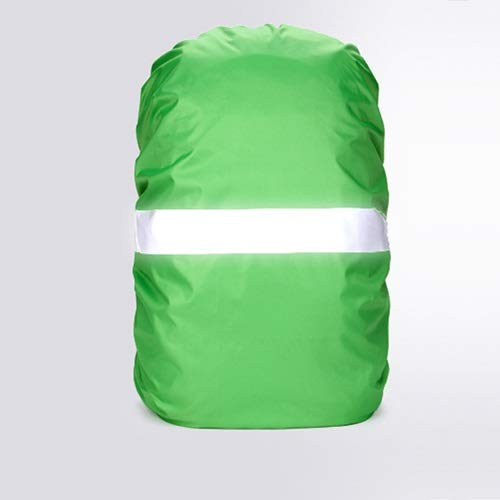 HUYANJUN, Rain Cover Backpack Reflective 20L 35L 40L 50L 60L Waterproof Bag Camo Tactical Outdoor Camping Hiking Climbing Dust Raincover (Color : Green, Size : 50 70L)