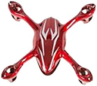 HUBSAN H107-A21 H107C Body Shell, Red/Silver