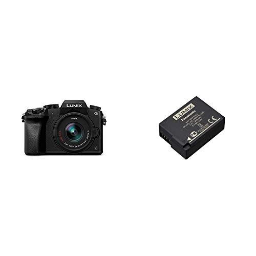 Panasonic Lumix DMC-G7KEC - Cámara Evil de 16 MP + Panasonic Lumix DMW-BLC12 - Batería Oficial para Cámaras Panasonic Lumix