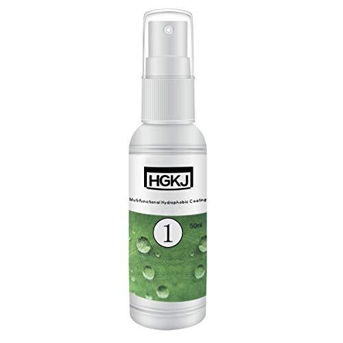 KUNSE 50Ml Nano Hydrophobic Coating Rain Agent Spray Care Für Glaskleidung Schuhe Wasserdicht