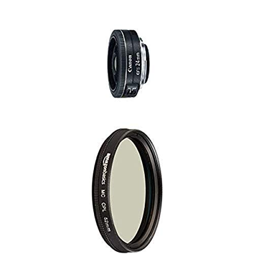 Canon EF-S 24mm f/2.8 STM Lens with Circular...