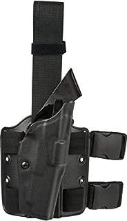 Safariland ALS Tactical Thigh Holster, Right Hand, STX Tactical Black DFA on Single leg Strap