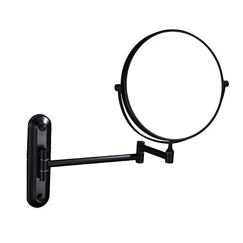 Espejo De Maquillaje De Pared De 3 Aumentos 180 Grado De Rotación...