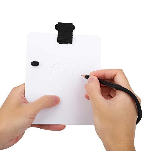 Keen so - Pizarra de escritura con clip giratorio y lápiz para deportes acuáticos, buceo, natación