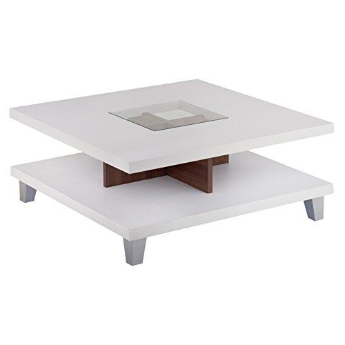 ioHOMES Lendon Coffee Table, White