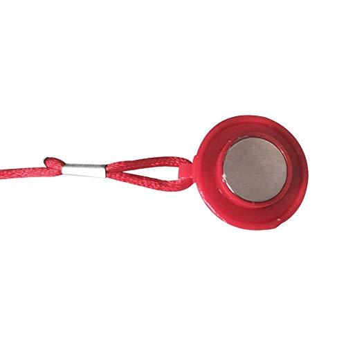 Llave de seguridad para cinta de correr, Llave de seguridad con imán, Cerradura de interruptor redondo de seguridad magnética para cinta de correr, Accesorios de fitness Piezas de imán universal