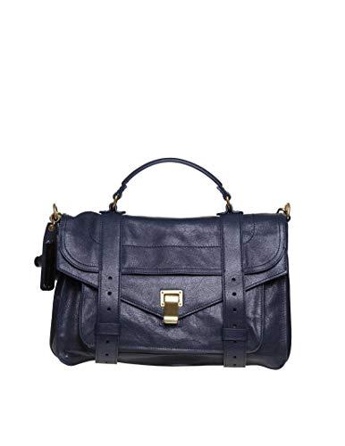 Proenza Schouler Luxury Fashion Donna H000025001 Blu Borsa A Mano   Autunno Inverno 19