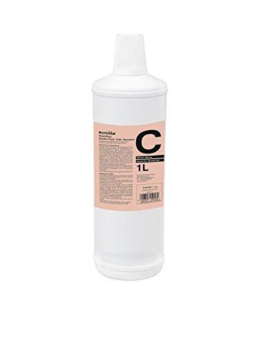 Eurolite Smoke Fluid -C2D- Standard 1 Liter | Nebelfluid für Nebelmaschinen | Mittlere Dichte und lange Standzeit | Made in Germany | Geruchsneutral auf Wasserbasis | Biologisch abbaubar