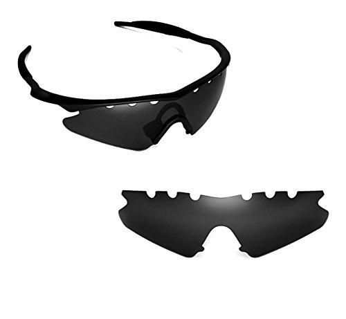 Lentes de repuesto compatibles con OAKLEY VENTED M Frame Sweep Polarizado Negro