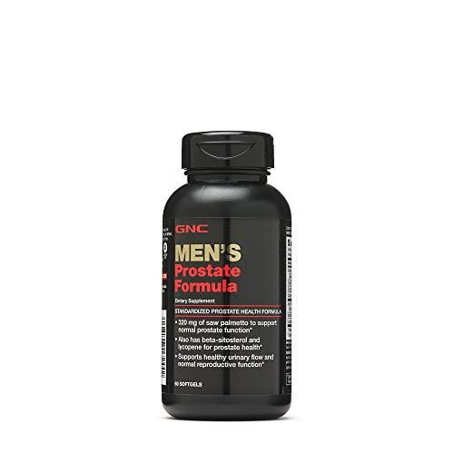 GNC Men's Prostate Formula, 60 Softgels, Supports...