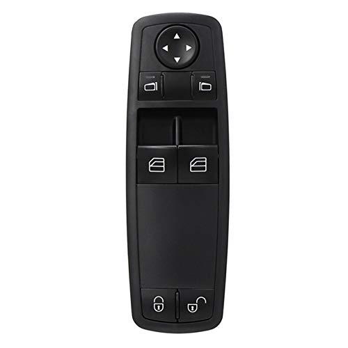KUANGQIANWEI Botonera elevalunas A1698206410 Botón de Interruptor Maestro de Ventana eléctrica Fit para Mercedes-Benz W169 A150 A160 A170 A180 A200 W245 B160 B180 B200 1698206410
