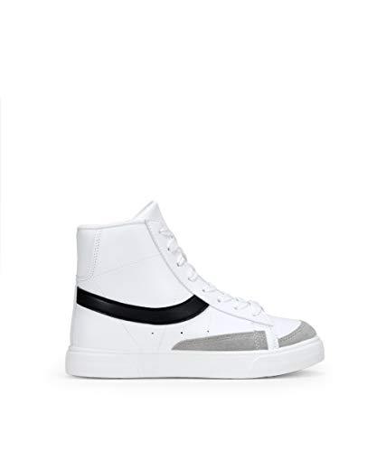 BOSANOVA Zapatillas Blancas Botin Blanco 40