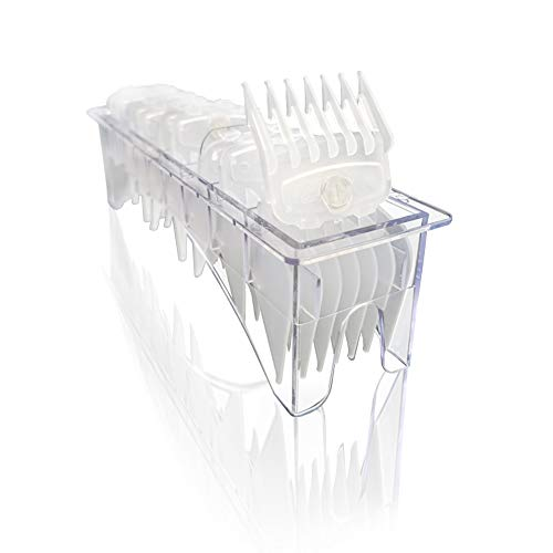 """Professional Hair Clipper Guards Guides Hair Cutting Guides #3170-400- 1/8"""" to 1 fits for all Wahl Clippers"""