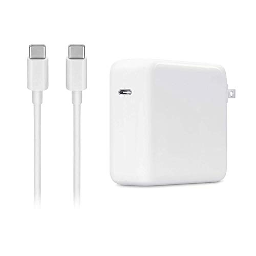 87W USB C Power Adapter Charger for MacBook Pro 15 Inch Laptop,with USB-C to USB-C Charge Cable