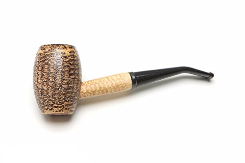 Missouri Meerschaum - Country Gentleman Corn Cob Tobacco Pipe - Bent Bit