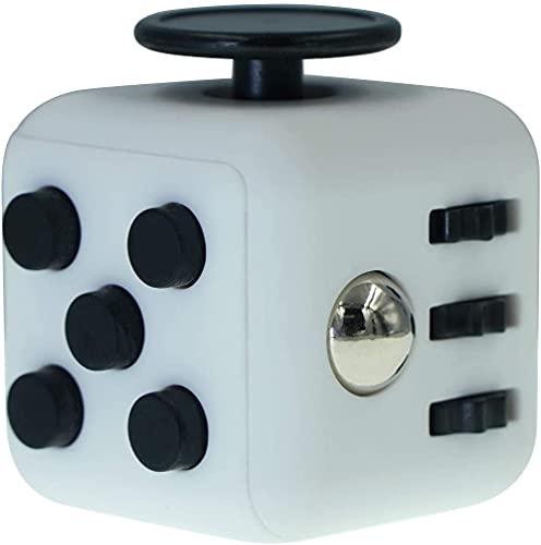 ZENFOCUS Cube Anti Stress, Super Cube Anti Stress, Objet Anti-Stress, Fidget Cube, Jouet sensoriel, Objet Destressant , Gadget de détente, Jouet Anti Stress, Cube de Décompression