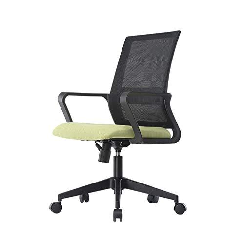 Comif- Chaise Mesh pour Ordinateur, Chaise de Bureau Ergonomique, réglable en Hauteur de 10 cm et à 135 °, capacité de Charge de 250 kg, Dossier en résille Respirant (Noir, Jaune, Orange, Vert)