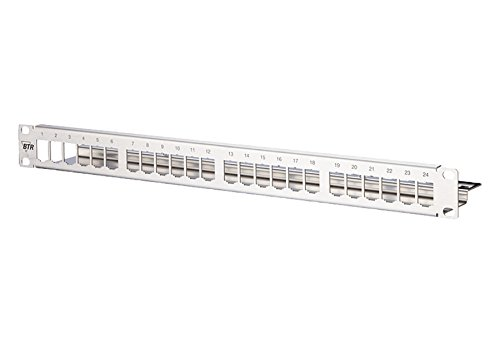 BTR E-DAT modul 24x8(8) - Patch Panel - 1U - 19