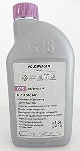 Volkswagen Líquido refrigerante Original G13 Botella de 1,5 Litro VW Audi Ready Mix J4