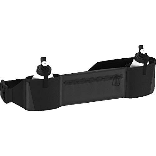 [アディダス]ウエストバッグランニング2ボトルポーチブラック/ブラック/リフレクティブ(CF5212)