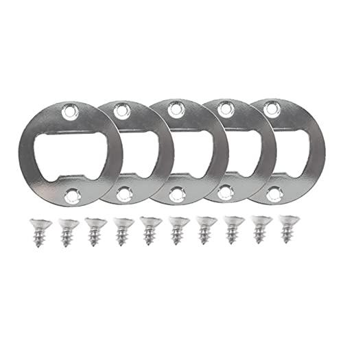 GEQIAN Kit de abrebotellas fácil DIY con piezas – Molde de fundición de silicona suave llavero molde para hornear molde para decoración colgante