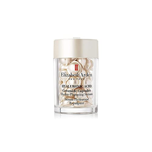 Elizabeth Arden Hyaluronic Acid Ceramide Capsules – Hydra-Plumping Serum, 30 Stück, Hautpflege für Frauen in Kapseln, mit Double-Lock-Hydration-System™ aus Ceramiden & Hyaluron