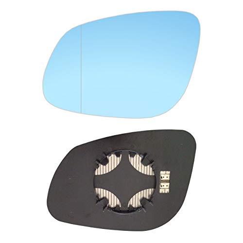 #AM-AIQ715-RCBH Miroir droit avec plaque et chauffage Bleu