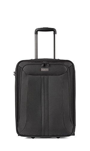 Antler Business 200 Cabin Suitcase On Wheels | Pilot Case | Hand Luggage | Smart Suit Case | Carry On Luggage | Cabin Case | Travel Suitcase | Lightweight Suitcases | Wheeled Cabin Bag