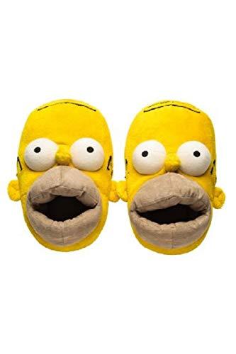 Homer Simpson Hausschuhe Slipper 33-36