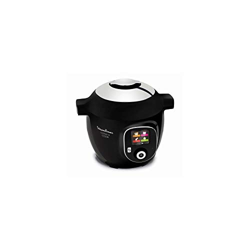 Moulinex Cookeo+ Connect olla multi-cocción 6 L 1600 W Negro - Ollas multi-cocción (6 L, 1600 W, 6 personas(s), China, Negro, LCD)