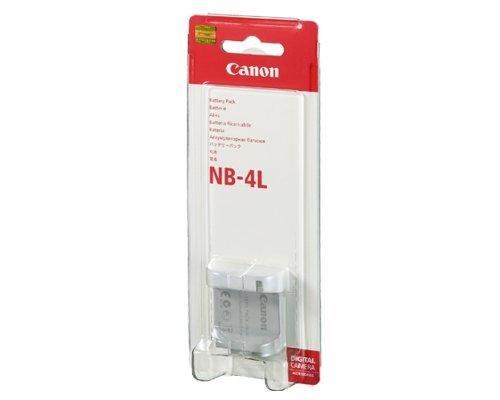 Canon NB 4L Lithium-Ionen Akku für Canon IXUS 30, 40, 50, 60, 65, 70, 75, 115 HS, 220 HS, 230 HS, 255