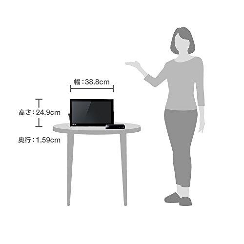 『パナソニック 15v型 液晶 テレビ プライベート・ビエラ UN-15T5-K HDDレコーダー付 2015年モデル』のトップ画像