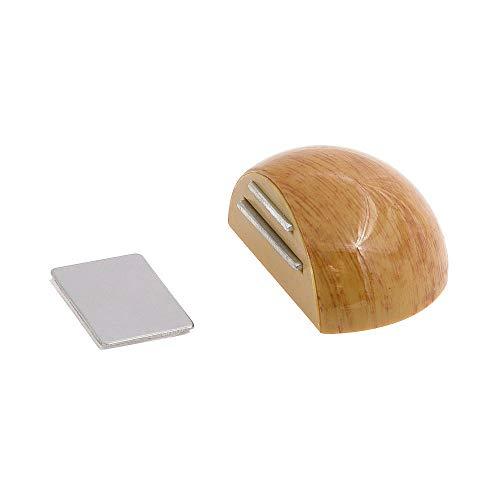 WOLFPACK 5320343Türstopper Tür Selbstklebend mit Magnet Halter Farbe Holz