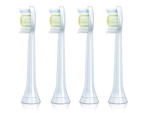 Philips HX6064/05 Sonicare Sensitive Diamondclean Standard - Cabezales para cepillo de dientes eléctrico (4 unidades)