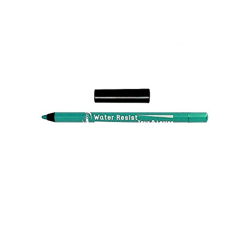 COSMOD - Maquillage Crayon Water Resist Lèvres & Yeux Made in France Turquoise