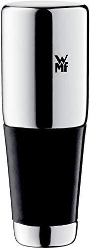 WMF Vino Wijn-/Flessensluiting, Gegoten Metaal, Silicone, Hoogte 8 cm, Zilver/Zwart
