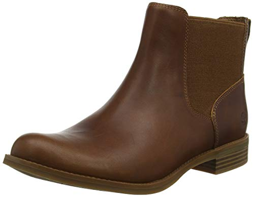 Timberland Damen Magby Low Chelsea Boots, Braun (Light Brown), 40 EU