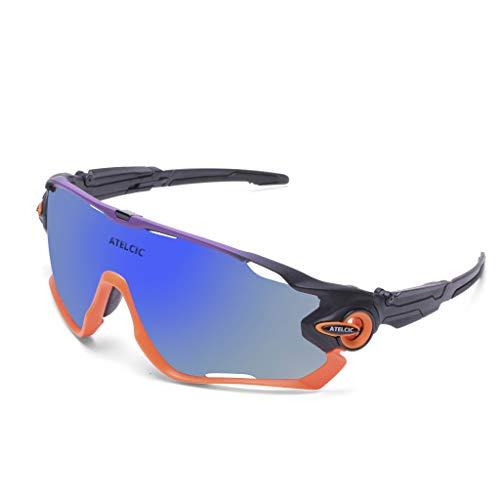 Gafas de Sol Deportivas para Ciclismo, Protección UV400 y M