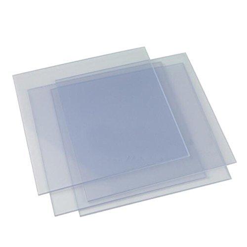 Dental Lab 20pcs Hard Vacuum Forming Plastic Sheets Thermoforming Plastic Sheet Splint Material 1.0mm
