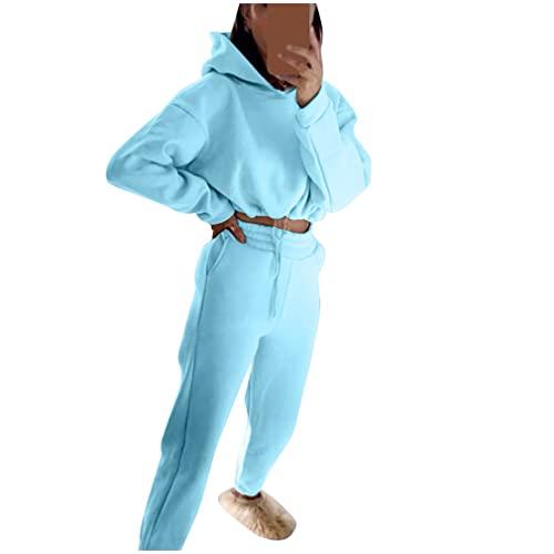 Mujeres 2 Piezas Traje De Punto - Ropa para La Mujer Set Trajes De Manga Larga De Punto Jersey Y Pantalones Casuales Cadera del Paquete De Ocio Traje Deportivo Loungewear Suéter