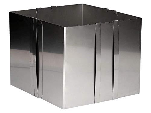 Verstellbar Tortenring, Backform, hoch, 20cm