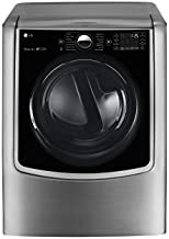 LG DLEX9000V TurboSteam 9.0 Cu. Ft. Graphite Steel With Steam Cycle Electric Dryer - Energy Star
